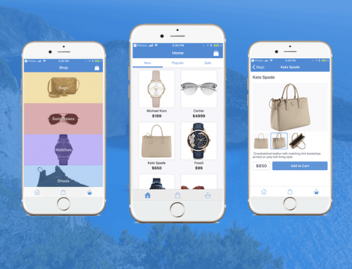 Firebase Shopping App